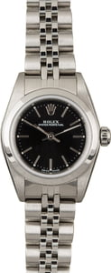 Rolex Oyster Perpetual 76080 Black Dial