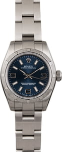 Ladies Rolex Oyster Perpetual 176210 Blue Dial