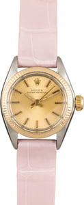 Used Rolex Oyster Perpetual 6719 Two Tone