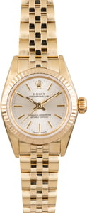 Pre Owned Ladies Gold Rolex Oyster Perpetual 67197