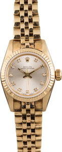 Pre Owned Ladies Rolex Oyster Perpetual 67197