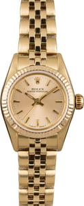 Pre Owned Rolex Ladies Oyster Perpetual 67197