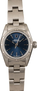 Pre-Owned Rolex Oyster Perpetual 76030 Blue Dial