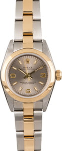 Pre Owned Rolex Oyster Perpetual 76183 Slate Dial T