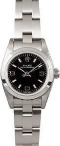 Rolex Ladies Oyster Perpetual 76080 Steel