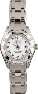 Pre Owned Ladies Rolex Pearlmaster 80319