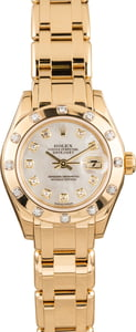 Ladies Rolex Pearlmaster 80318 Diamond