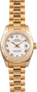 Pre Owned Rolex President 179178 Yellow Gold