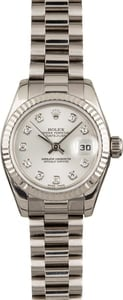 Used Rolex President 179179 Diamonds
