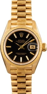 Rolex Pre-Owned Ladies President 69278