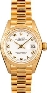Pre Owned Rolex President 79178 Roman Dial