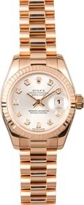 Rolex Presidential Ladies 179175 Diamond Dial