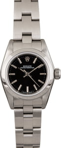 Pre Owned Ladies Rolex Steel Oyster 67180