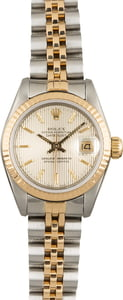 Pre Owned Rolex Ladies Datejust 69173 Tapestry Dial