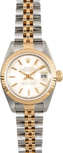Rolex Two-Tone Lady Datejust 69173 Tapestry