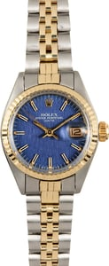 Rolex Vintage Ladies Date 6917 Blue