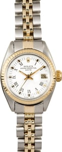 Rolex Vintage Ladies Date 6917 Two-Tone