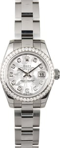 Used Rolex Datejust 179384 Diamond Bezel