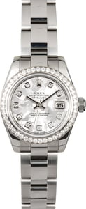 Rolex Women's Datejust 179384 Diamond Bezel