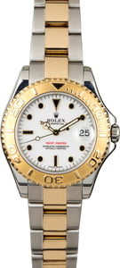 Rolex Yacht-Master 35MM 168623 White Dial