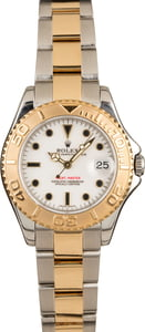 Rolex Yacht-Master 168623 Two Tone White Dial