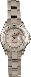 Used Rolex Ladies Yacht-Master 169622 Platinum Dial