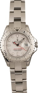 Used Rolex Mid-Size Yacht-Master 169622 Platinum Dial