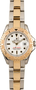 Rolex Two Tone Yacht-Master 169623 White Dial