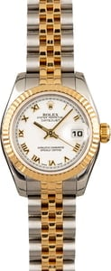 Two Tone Lady Rolex Datejust 179173