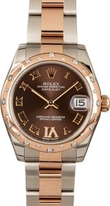 Rolex 31MM Datejust 178341 Rose Gold Oyster