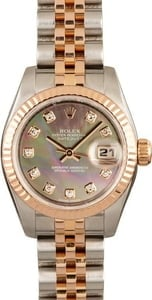 Pre-Owned Rolex Lady-Datejust 179171 Everose