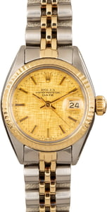 Pre Owned Rolex Datejust 6917 Champagne Dial