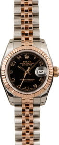 Pre-Owned Rolex Lady-Datejust 179171 Everose gold