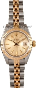 Lady Rolex DateJust Two Tone 69173