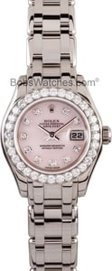 Ladies Rolex Pearlmaster