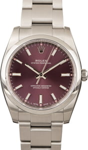 PreOwned Rolex Oyster Perpetual 114200