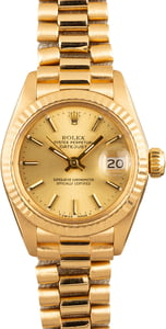 Pre-Owned Rolex Ladies President 6916