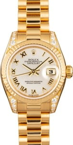 Rolex Lady President 179238 Diamond Mother of Pearl