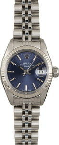 Rolex Date 6917 Blue Index Dial