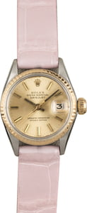 Pre Owned Rolex Datejust 6517 Leather Strap