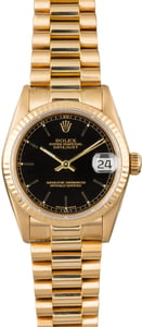 Rolex Datejust 68278 Mid-Size President