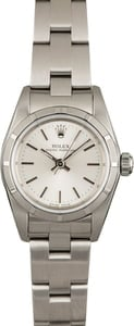 Used Rolex Oyster Perpetual 76030 Silver Dial