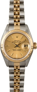 Used Rolex Datejust 79173 Champagne Dial