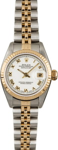 PreOwned Rolex Datejust 79173 White Roman Dial