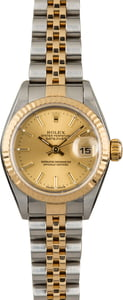 PreOwned Rolex Datejust 79173 Champagne Dial