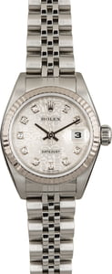 Used Ladies Rolex Datejust 79174 Silver Jubilee Diamond Dial