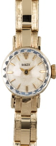 Rolex Ladies Dress Watch Gold