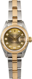Women's Rolex Datejust 79173 Diamonds