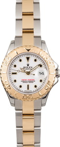 Pre Owned Rolex Ladies YachtMaster 169623 White Dial