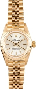 Ladies 18k Yellow Gold Rolex President